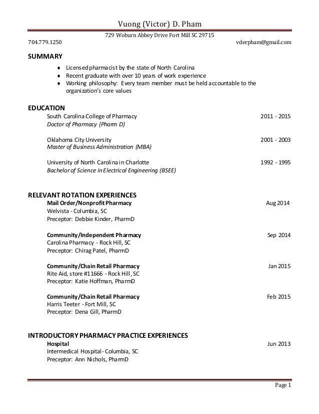 Latest Retail Resume 2015