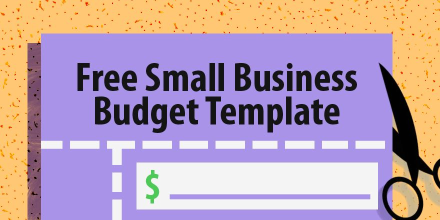 Free Small Business Budget Template - Capterra Blog