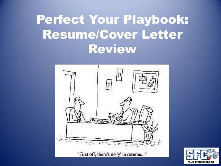 Resume & Cover letter- T-3 Program