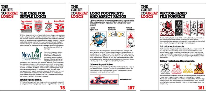 Free 222 page ebook download: The Guide To Great Logos
