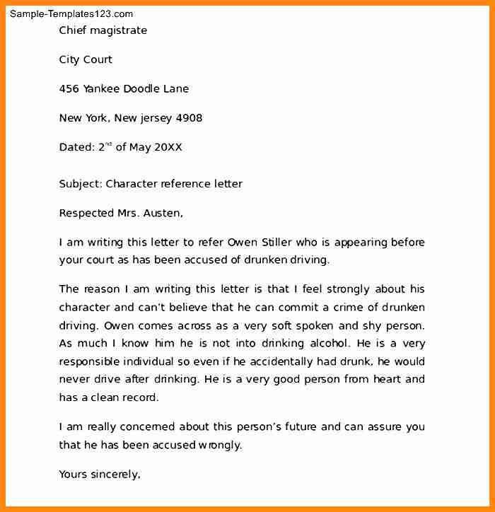 8+ character reference letter for child custody | driver-resume