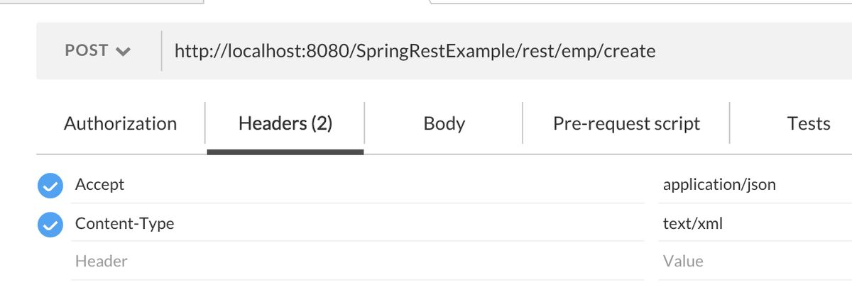 Spring REST XML and JSON Example - JournalDev