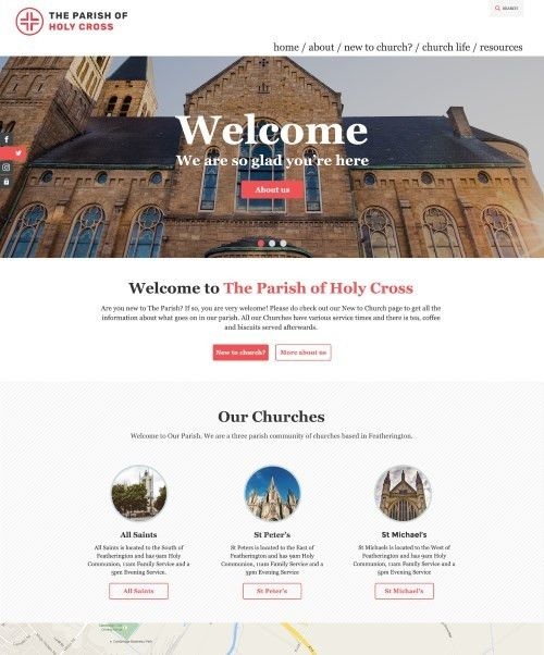 Church Website Templates - ChurchInsight
