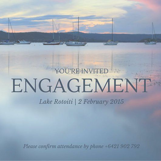 Engagement Party Invitation - Templates by Canva