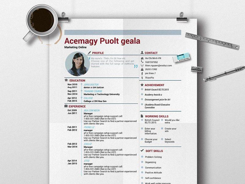 MeetDev - Free CV Resume Templates