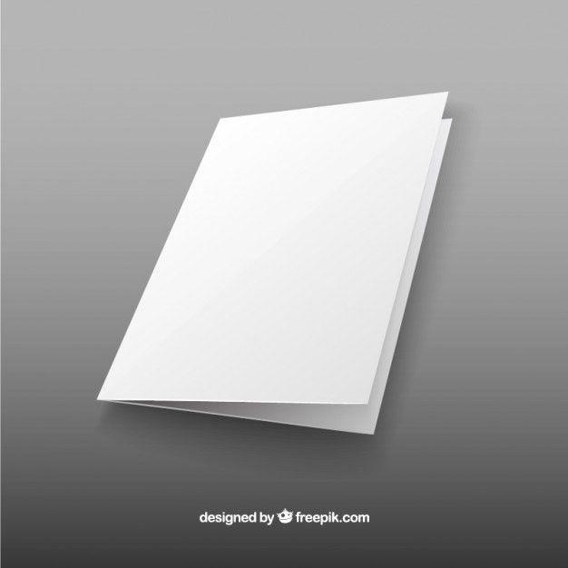 Blank brochure Vector | Free Download