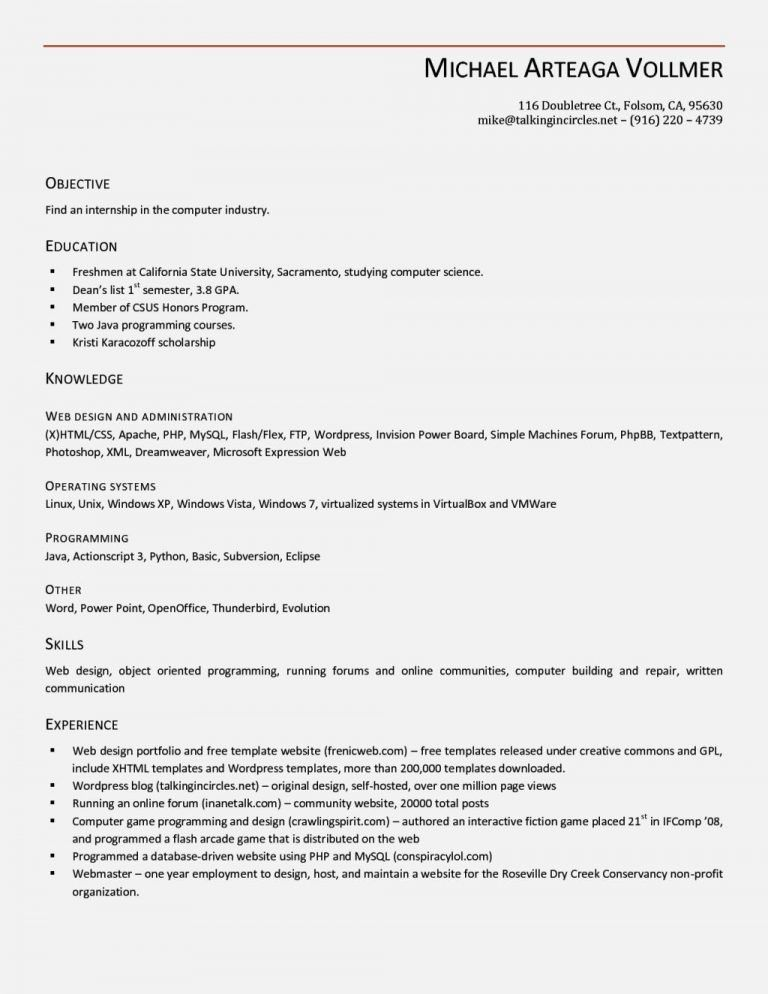 Clever Resume Templates Open Office 6 Free - CV Resume Ideas