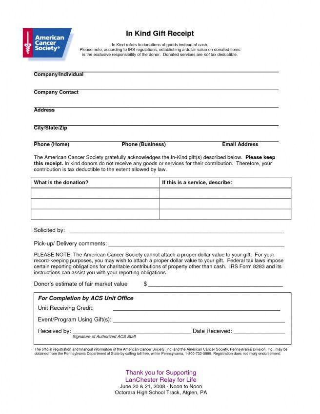 Donation Invoice Template Excel | Design Invoice Template