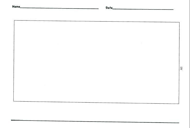 Kindergarten Lined Paper Template | Template Design