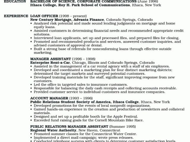 2. underwriter resume sample. underwriter resume. mortgage ...