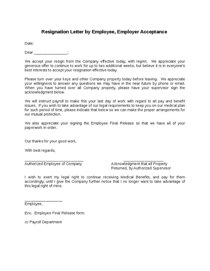 retirement letter of resignation sample. resignation letter format ...