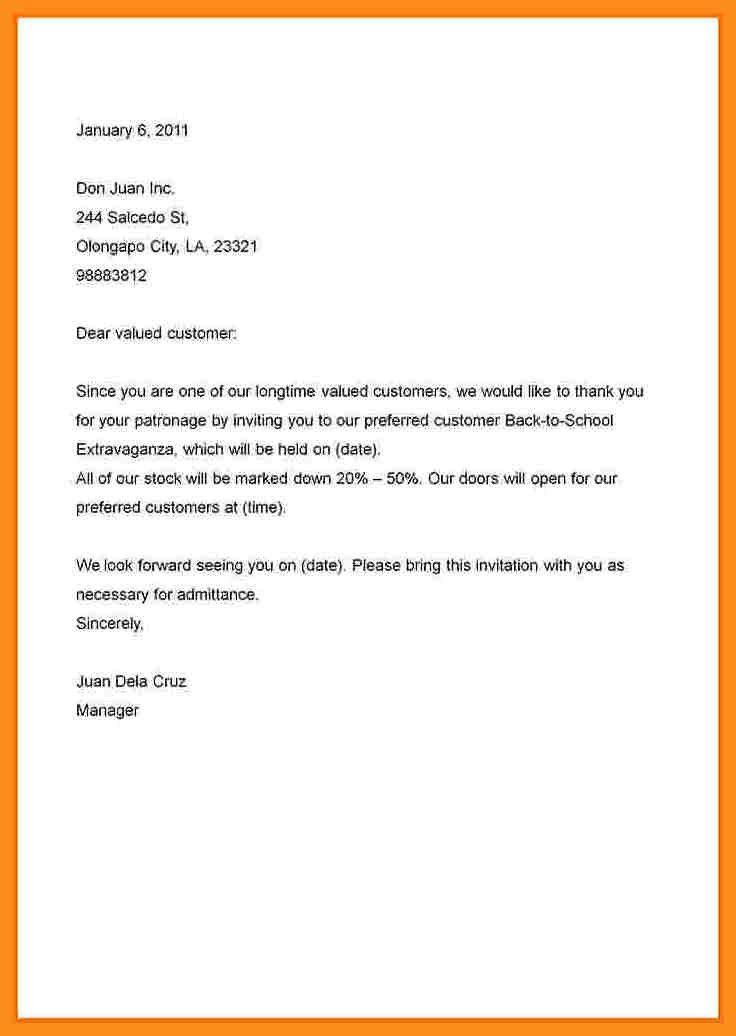 7+ invitation letter sample | resume setups
