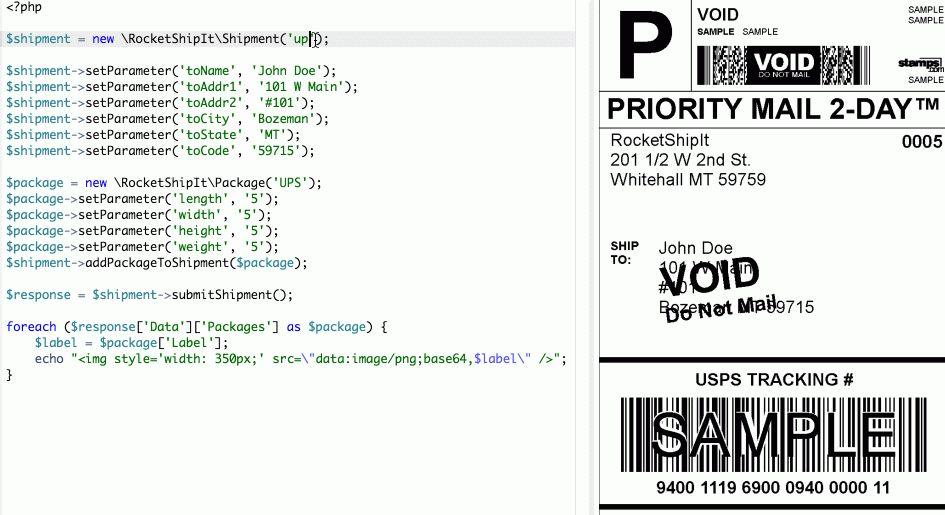 RocketShipIt - Shipping API