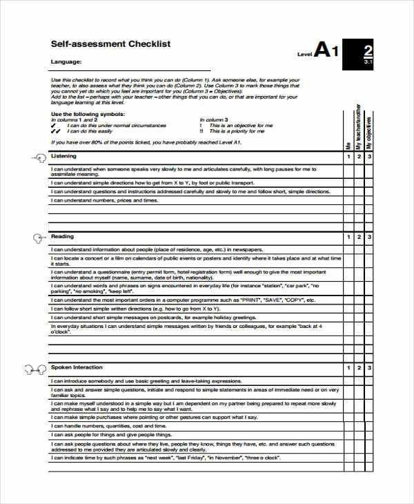 32 Checklist Templates in PDF | Free & Premium Templates