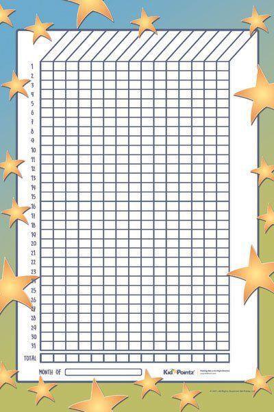 Kids Behavior Chart Template | Samples.csat.co