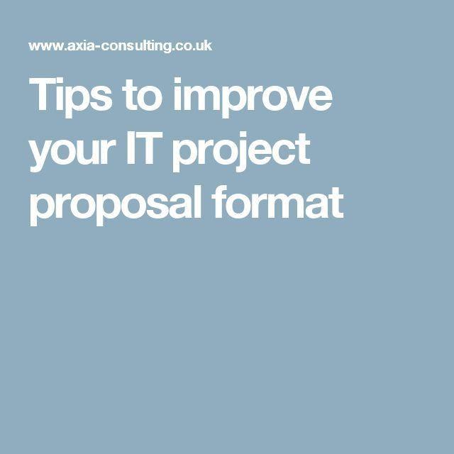 Best 20+ Proposal format ideas on Pinterest | Proposal writing ...