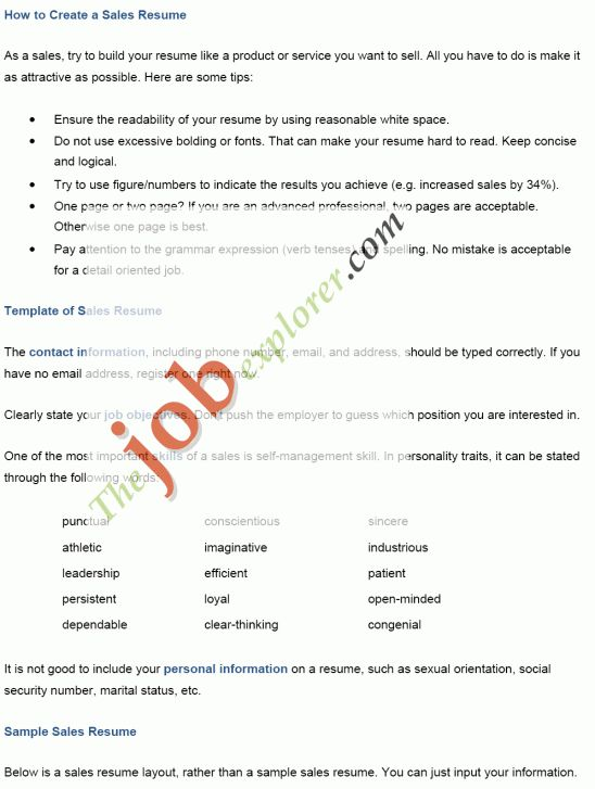 how to create a resume for a job. a perfect resume format for mid ...