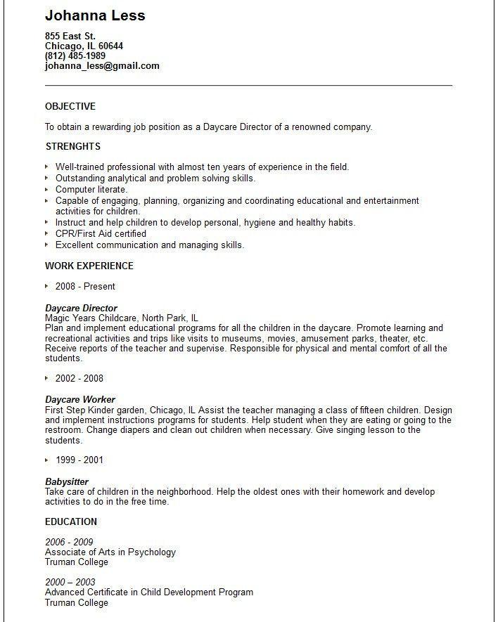 Work Resume Templates