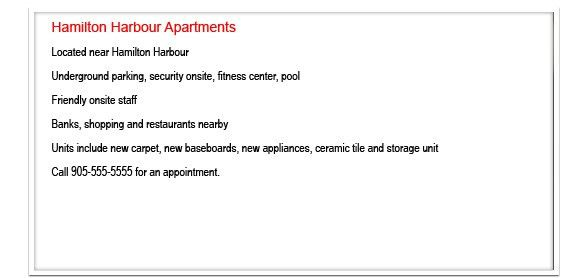 Writing An Apartment Building Description That Sells | Landlord ...