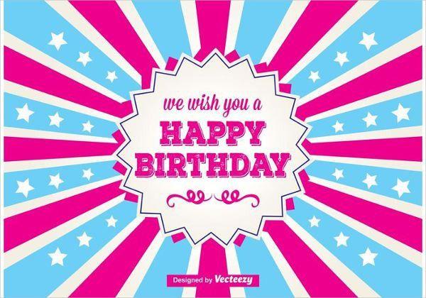 Sample Birthday Cards | Free & Premium Templates