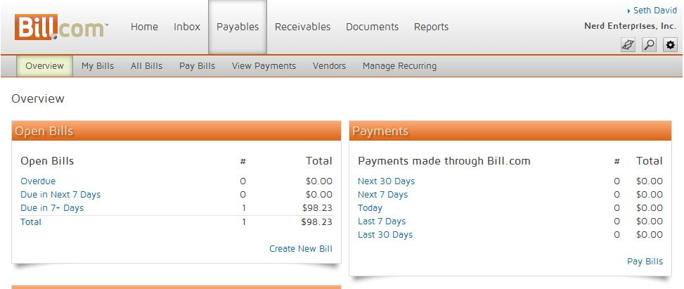 How To Set Up Your Bills or Accounts Payable in Bill.com ...