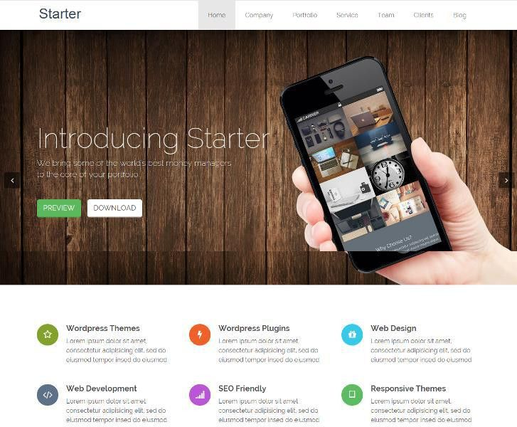 14 Best Free WordPress Landing Page & App Themes 2017 - Design Webz