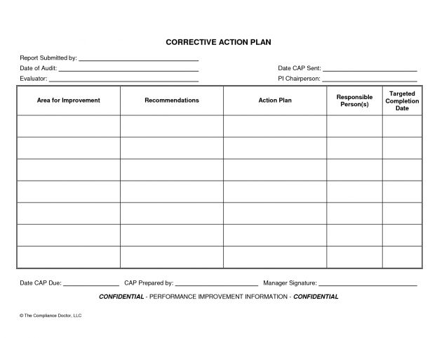 Action Planning Template daily action plan : Selimtd