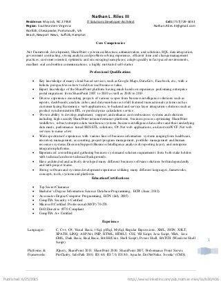 sample java resumes java resume resume format pdf java resume 2 ...