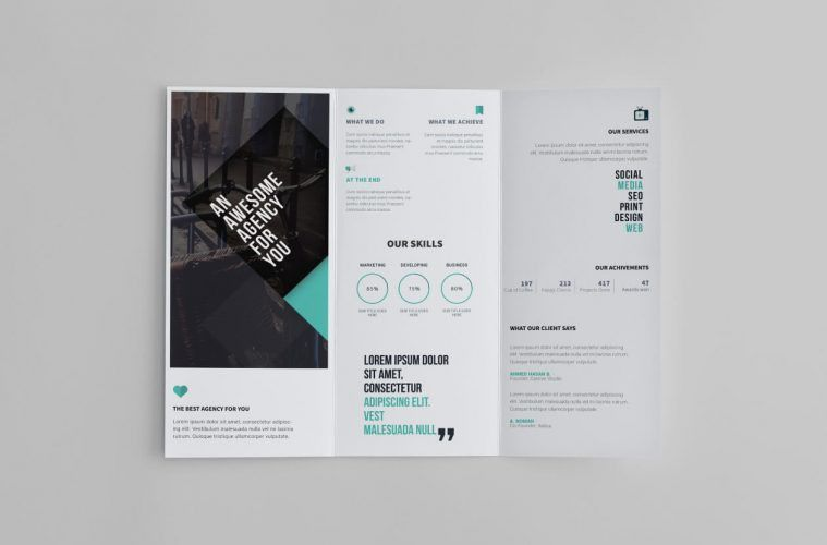 Free Tri-Fold Brochure Template - Creative Specks