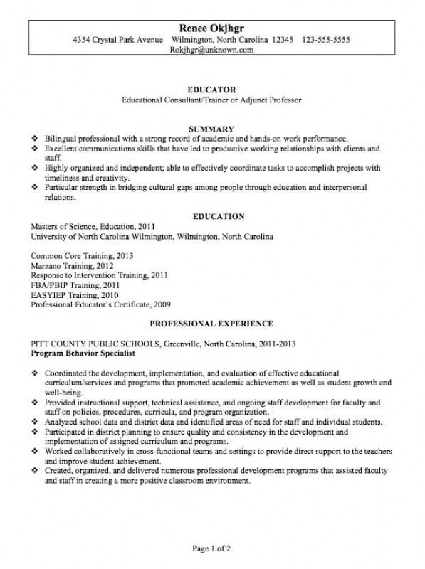 chronological resume minimalist design. free downloadable resume ...
