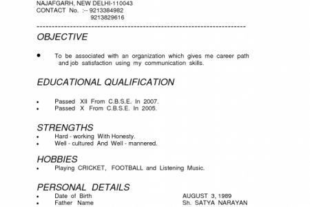 How To Type A Resume Objective Resume Resume Types Functional ...