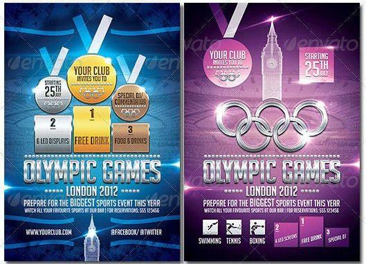London Olympics Sports Flyer | Newone