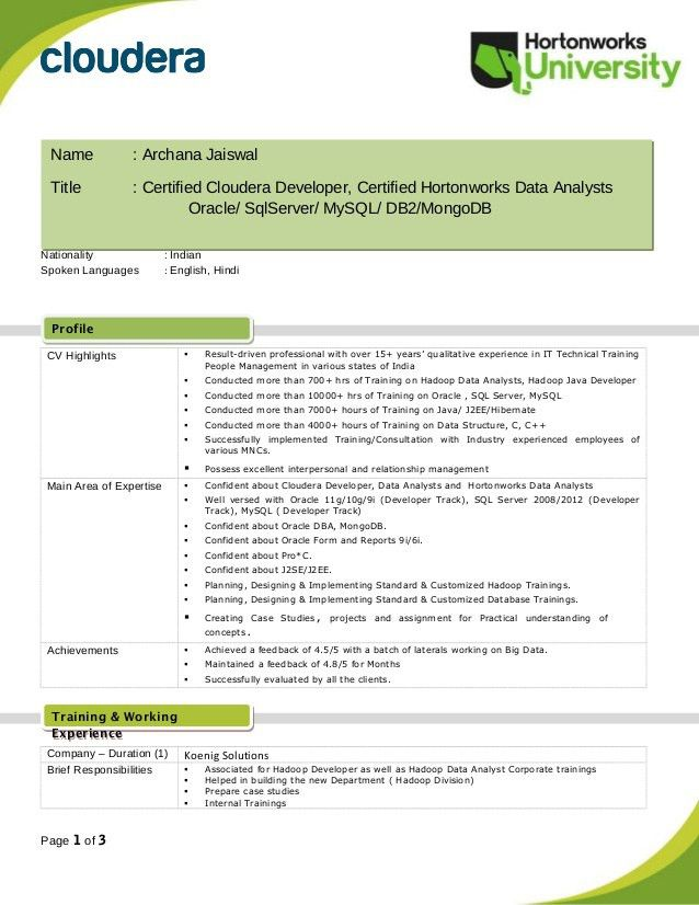 Oracle Dba Resume Sample India - Contegri.com