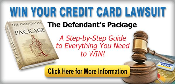 Sample Answer on How to Answer a Summons | How To Win A Credit ...