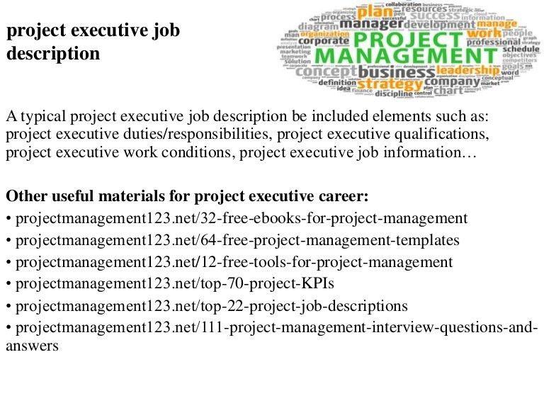 project development manager job description