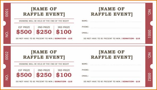 6+ sample raffle tickets | teknoswitch