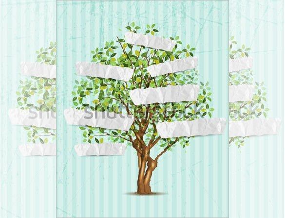 14+ Popular Editable Family Tree Templates & Designs | Free ...