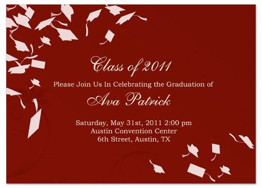 Graduation Invitation Template – gangcraft.net
