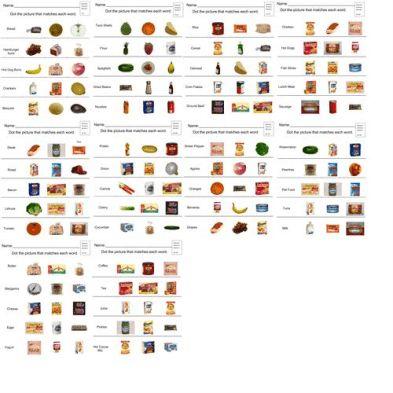 Edmark Functional Word Series: Grocery Words 1