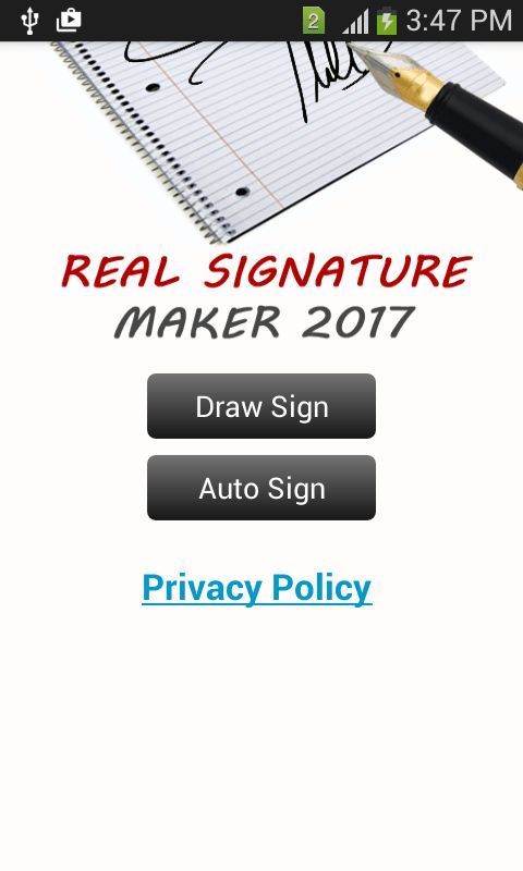 Real Signature Maker 2017 - Android Apps on Google Play
