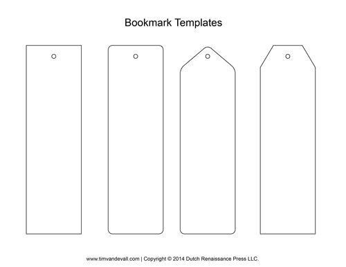 Best 25+ Bookmark template ideas only on Pinterest | Printable ...