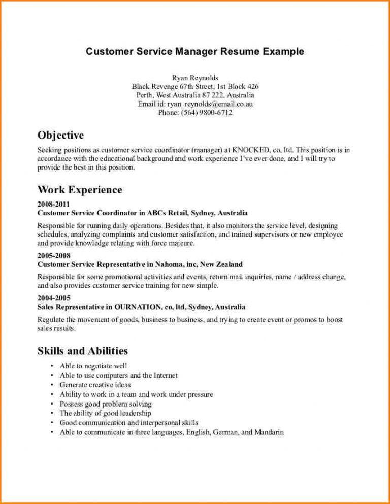 Stylish And Peaceful Resume Objective Examples Customer Service 16 ...