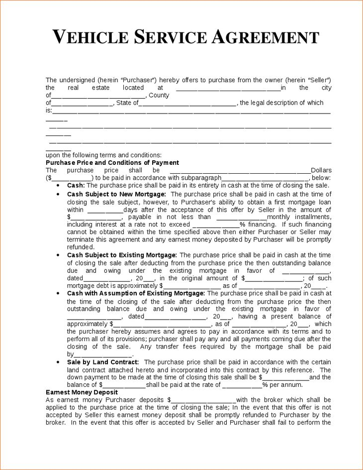 4 service agreement templateReport Template Document | report template