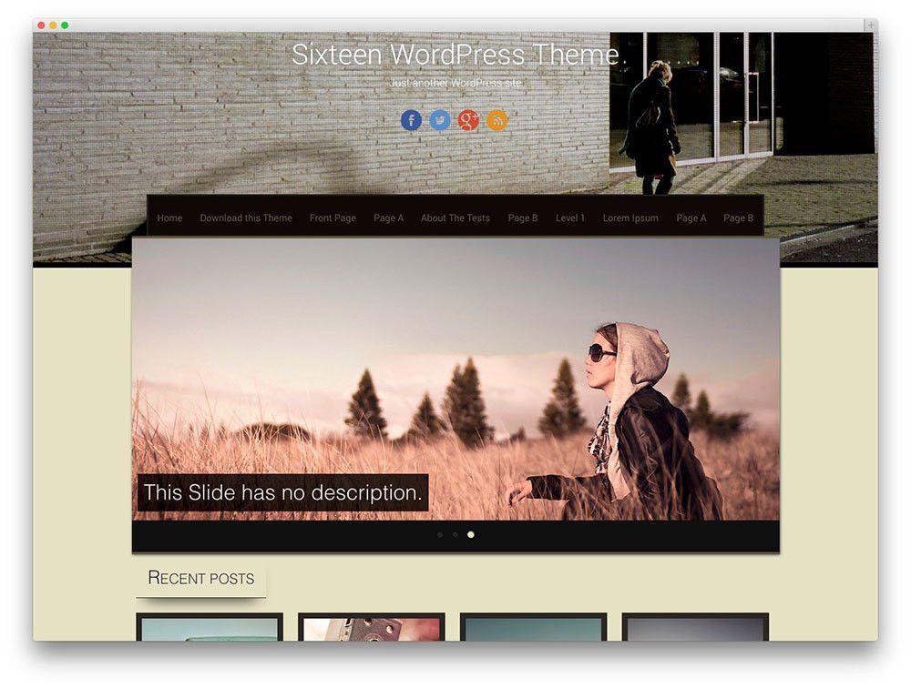 30+ Free Responsive Photography WordPress Themes 2017 - Colorlib