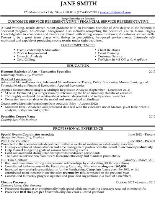 Click Here to Download this Customer Service Representative Resume ...