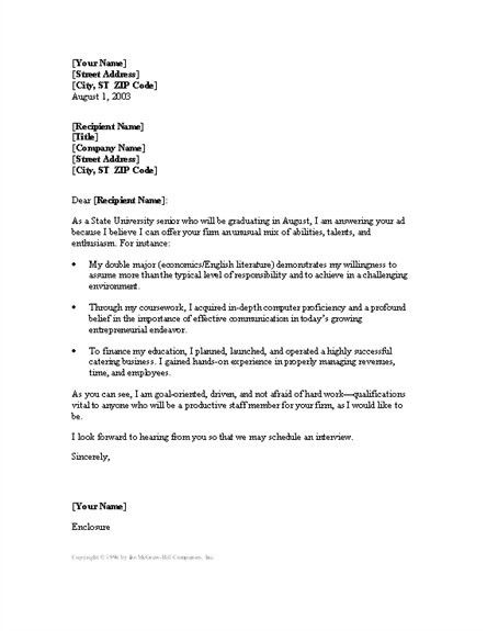 Customer Service Representative Cover Letter [Template ...