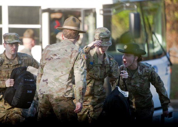 First gender-integrated infantry one station unit training ...