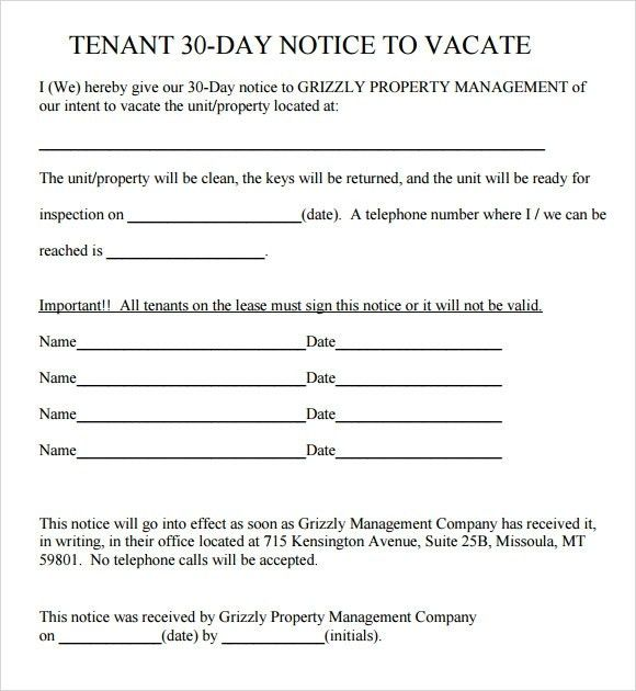 Eviction Notice Letter. Five Day Notice To Occupant 45 Eviction ...