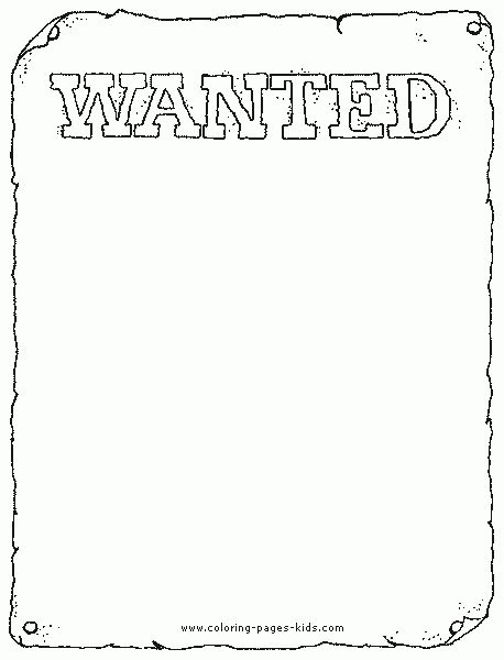 Free Western Wanted Poster Clip Art (28+)