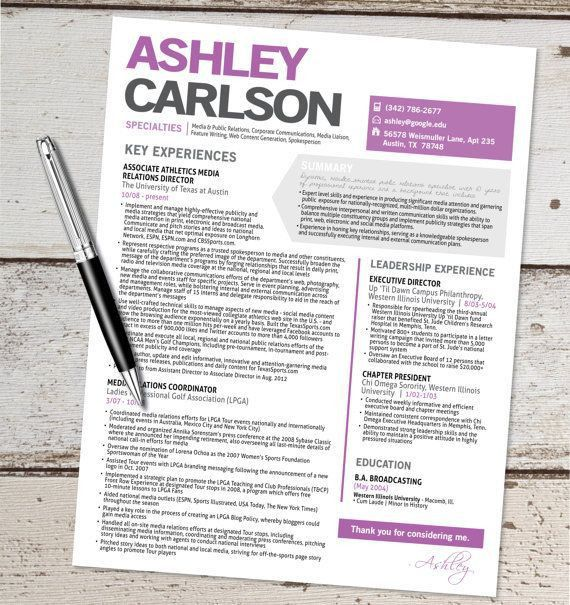27 best Cool Resume Designs images on Pinterest | Resume templates ...